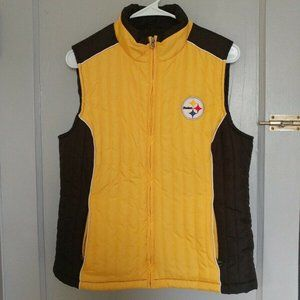 NFL Pittsburgh Steelers Women's Vest Medium